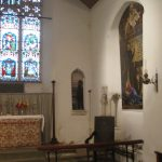 Richard Foster's paintings in East Lexham Church