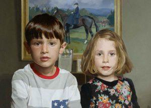 Paul Brason, Arthur and Lottie a portrait of two children