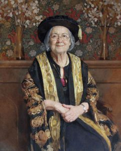 Keith Breeden, Baroness Hale of Richmond DBE PC QC FBA, Chancellor of the University of Bristol- one of the top portrait painters 2017