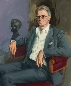 Andrew Festing, a portrait of Lord Manners- top portrait painters 2017