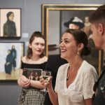 Ania Hobson at the Royal Society of Portrait Painters' Private View 2018