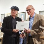 Michael Taylor receiving The Smallwood Architects Prize