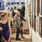 Visitors Royal Society of Portrait Painters' 2018 Private View