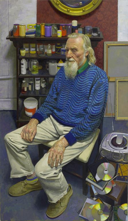 Benjamin Sullivan 'John McWilliam' (2006). 47 x 27 ins. Oil on Canvas.