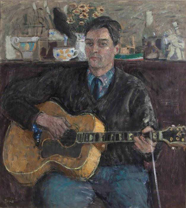 John G. Boyd 'Denham Macdougall, Social Worker' (2000). 100 x W 90. Oil on canvas.
