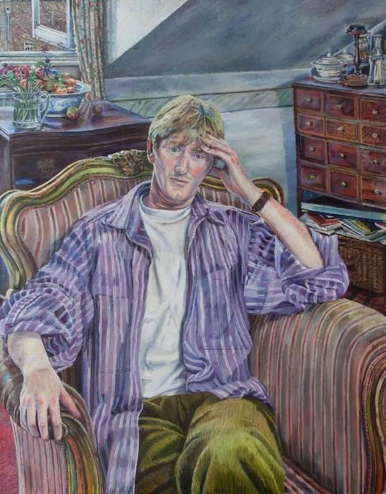 Melissa Scott-Miller, 'Frank Walsh, Wheeler-Dealer' (2000). 120 x 100 cm. Oil on canvas.