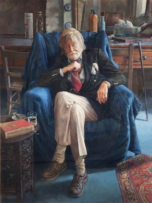 Jason Niall Sullivan, 'Michael Horatio Hobson, Retired Actor' (2000). 99 x 73 cm. Oil on canvas.