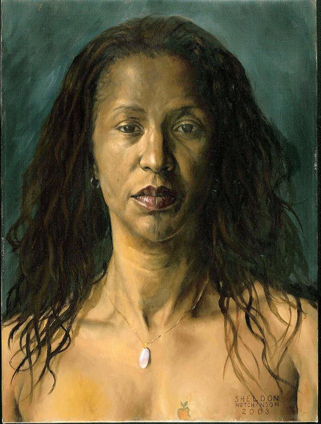 Sheldon Hutchinson 'Dede Cossta, Brazilian Dancer' (2003). 24 x 18 ins. Oil on Canvas.