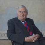 Baron Morris of Aberavon, a portrait commission as Chancellor of The University of South Wales