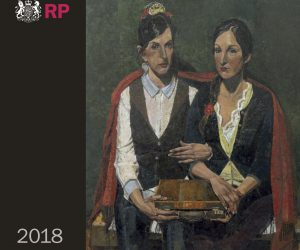 Royal Society of Portrait Painters' Annual Exhbition 2018 cover