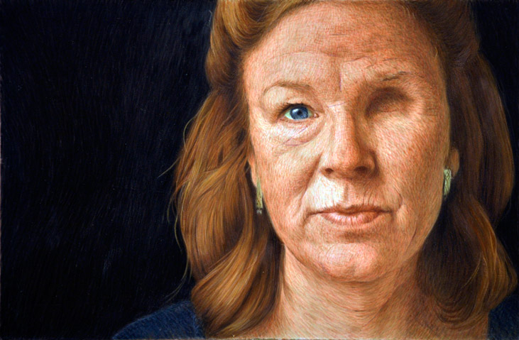 Painted Portraits Of Face