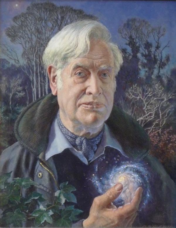 John Walton 'Self Portrait'. 21 x 25 ins. Oil