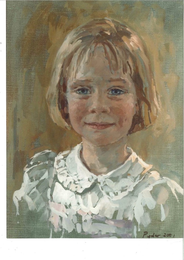 Susan Ryder 'Siena Speke' (2001). 16 x 12 ins. Oil.