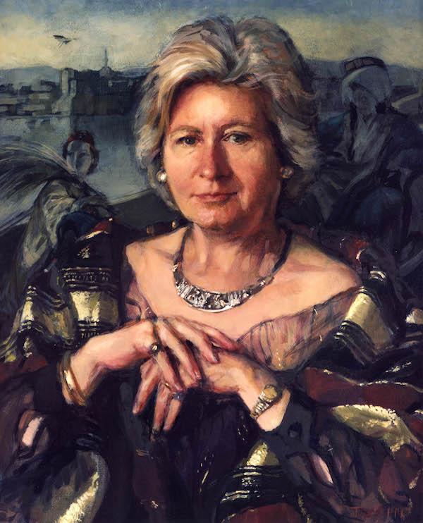 Jane Bond 'Naciye O'Reilly' (1997). 23 x 19 ins. Oil on Canvas