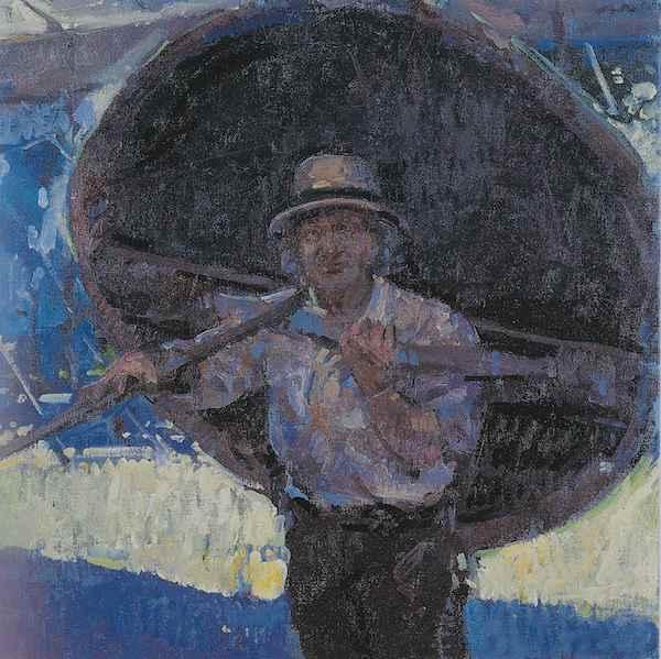 Tom Coates 'Peter Faulkner coracle-maker' (2002)