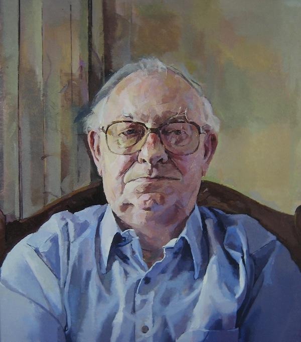Geoffrey Hayzer 'Norman'. 24 x 22 ins. Oil.