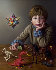 Miriam Escofet 'Lorenzo' - oil on panel This portrait was conceived to encapsulate a childhood. A portrait: the ultimate gift