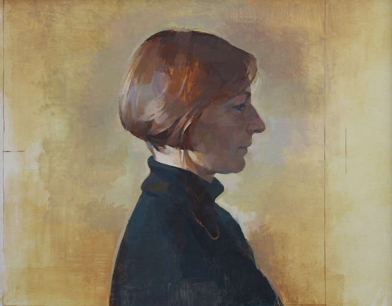 Geoffrey Hayzer 'Catherine'. 23 x 27 ins. Oil