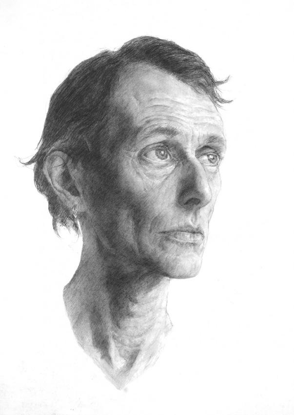Sheldon Hutchinson 'Robbie'. 22 x 16 ins. Pencil.
