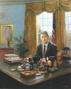 Michael Noakes ' President Clinton'