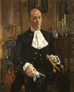 High Sheriff of Essex in Court Dress