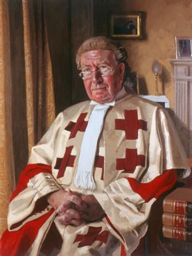 Benjamin Sullivan 'The Right Honourable Lord Kirkwood'. 38 x 32 ins. Oil.