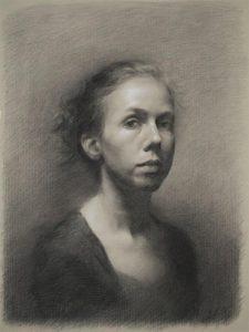 Stephanie kullberg 'Portrait of Lisa'