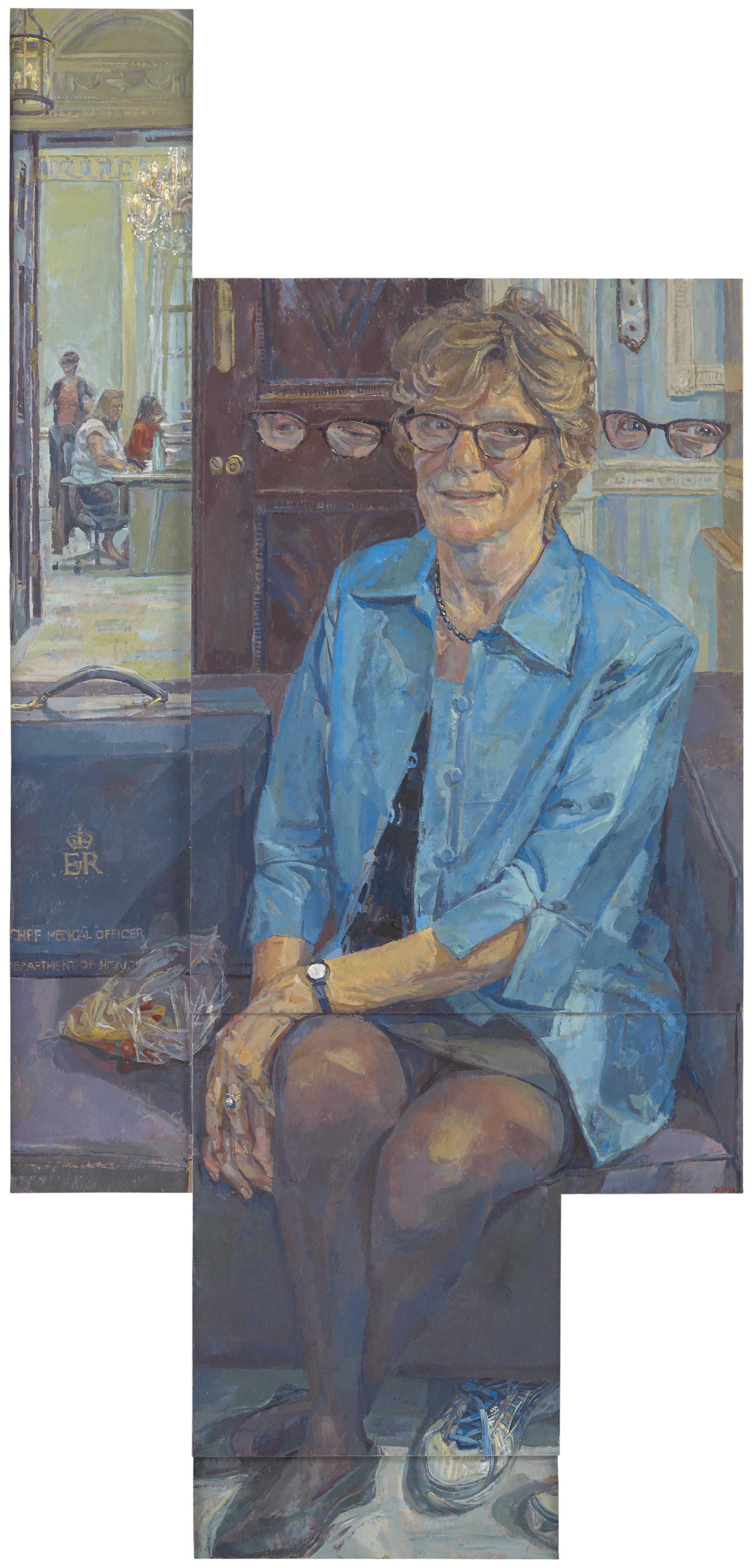 Dame Sally Davies by Daphne Todd OBE PPRP NEAC