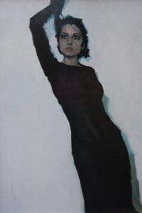 Simon Davis 'Open Eye Signal' a portrait of Aliona Adrianova