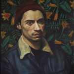 Shawn Mcgovern, James winner of the Royal Society of Portrait Painters' Ondaatje Portrait Award