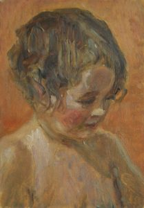 David Caldwell, Tomas portrait of a young child