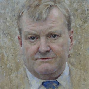 Keith Breeden Keith Charles Kennedy 1959-2015, a posthumous portrait for the Liberal Club - top portrait painters 2017