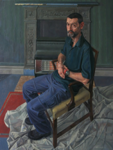 Justin Eckersley, by Sam Dalby