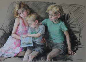 Artists who do Portrait Drawings of Children
