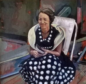 Toby Wigins 'Mother' a posthumous portrait