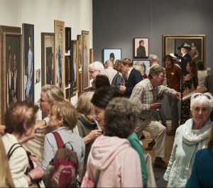 Royal Society of Portrait Painters Private View 2018 where our new members were announced