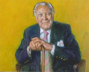 Sir Donald Sinden by Michael Noakes RP