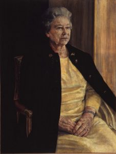 H M The Queen by Antony Williams RP. Winner of the Ondaatje Prize for Portraiture, Royal Society of Portrait Painters 1995