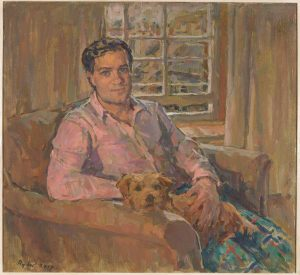 Susan Ryder 'Hector with Brodie'