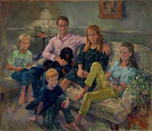Susan Ryder 'The de Laszlo family' group portrait
