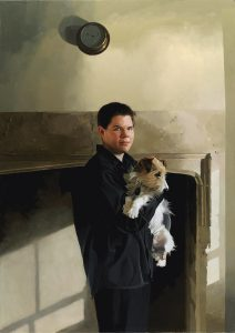 Paul Brason - Simon and Milo the dog