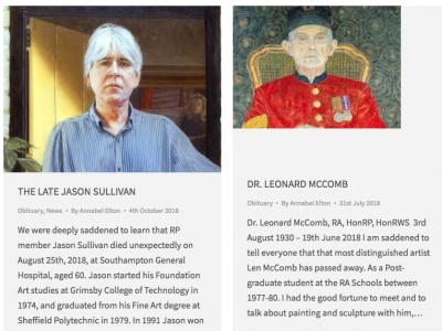 Royal Society of Portrait Painters Obituary