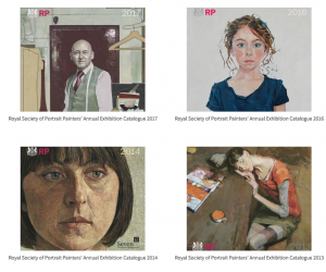 Royal Society of Portrait Painters' Archive Catalogues