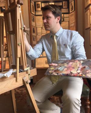 Ben Sullivan at work