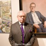Photo Must Be Credited ©Edward Lloyd/Alpha Press 080000 08/05/2019 David Starkey at the Royal Society of Portrait Painters Annual Exhibition Private View 2019 held at the Mall Galleries in The Mall, London.