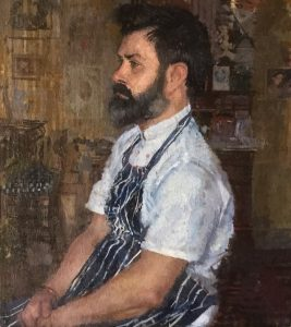 Peter Kuhfeld 'The Executive Chef' winner of the Ondaatje Prize for Portraiture