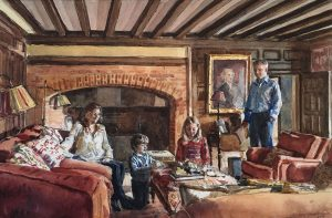 Richard Foster 'The Pitt Family'
