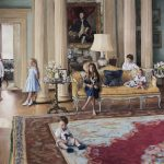 Phoebe Dickinson 'The Bamford Children at Daylesford House'