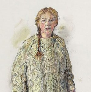 Self Portrait' by  Melissa Scott-Miller RP NEAC