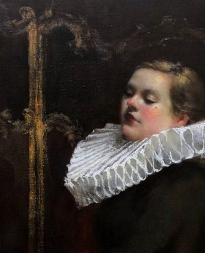 2020 Royal Society of Portrait Painters Prize Winner